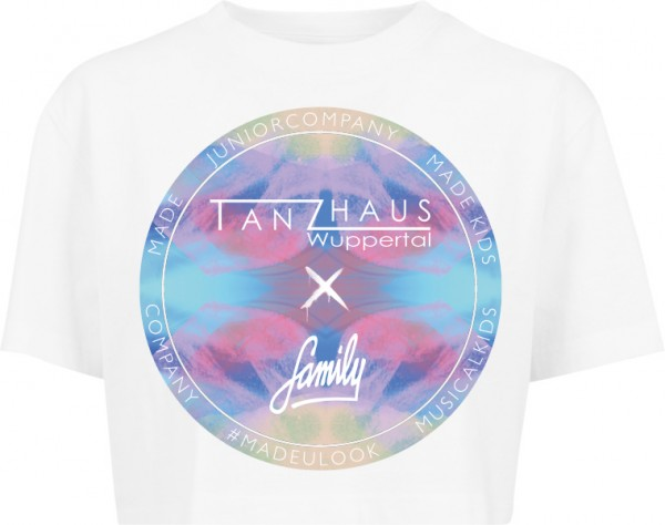 """TANZHAUS X FAMILY COLORFUL"" Ladies Short Oversized Tee"