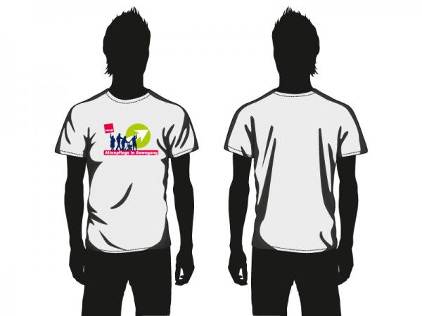 Altenpflege in Bewegung Herren T-Shirt