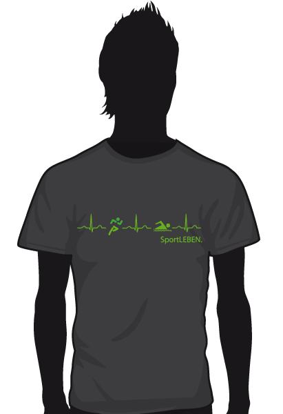 Sport Leben T-Shirt Herren