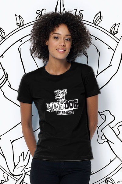 Mad Dog T-Shirt Damen
