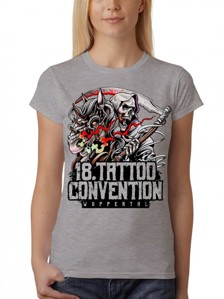 "Damen T-Shirt ""Tattoo Con 2018 Wuppertal"""