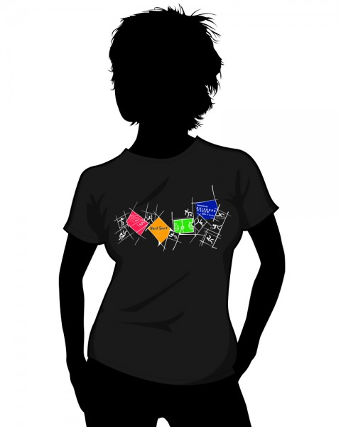 """Uni Essen"" Girls T-Shirt"