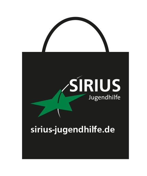 """Baumwolltasche """"Sirius Jugendhilfe"""""""