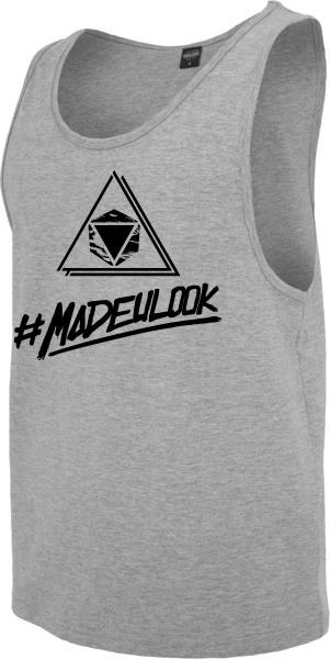 """#MADEULOOK"" Jersey Big Tank"