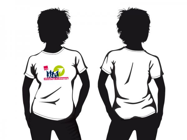 Altenpflege in Bewegung Damen T-Shirt