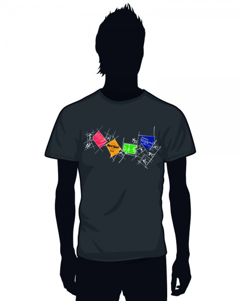 """Uni Essen"" Crewneck Sports T-Shirt (Men)"