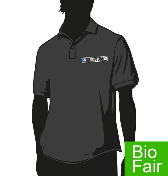 """""""E-Mobil"""" Bio Fair Herren Polo Hemd"""