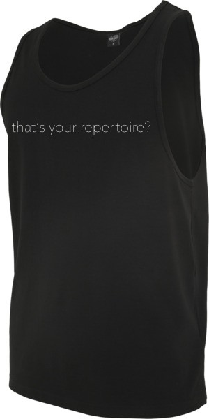 """REPERTOIRE"" Jersey Big Tank"