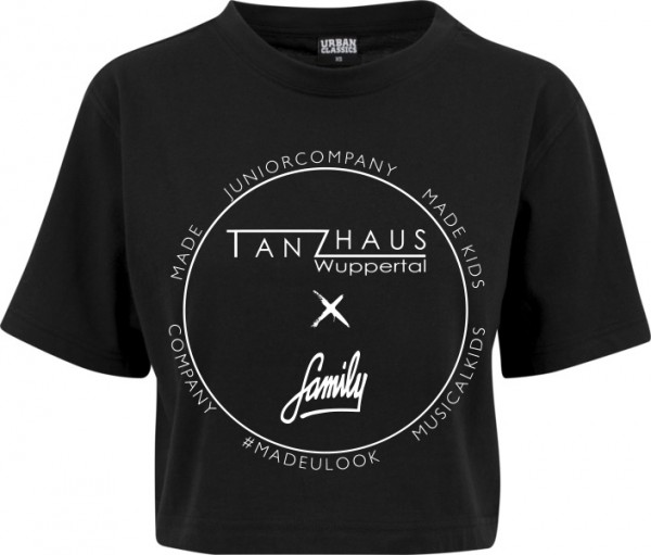 """TANZHAUS X FAMILY"" Ladies Short Oversized Tee"