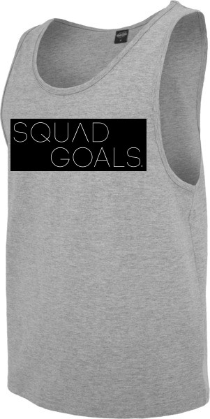 """SQUAD GOALS"" Jersey Big Tank"