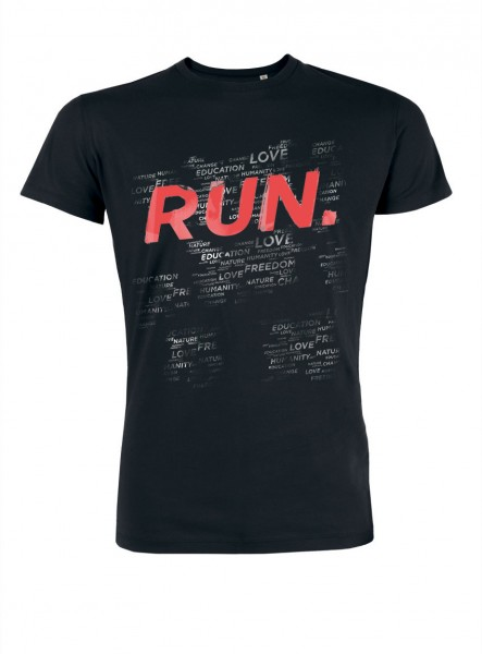 """RUN THIS WORLD"" T-Shirt"