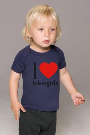 Bikergirls Baby Kurzarmshirt