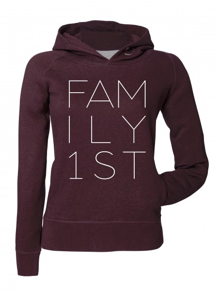"""FAMILY FIRST"" Girls Kapuzenpullover"