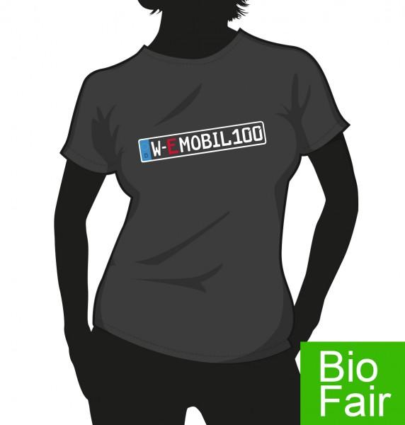 """E-Mobil"" Bio Fair Damen Shirt"