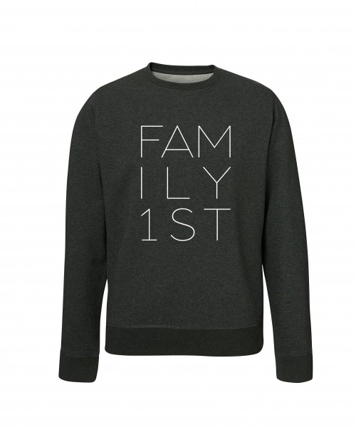 """""""FAMILY FIRST"""" Unisex Pullover"""